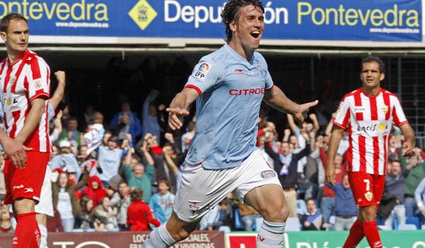 Bermejo celebra gol