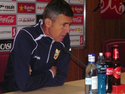 Lucas Alcaraz entrenador Almeria