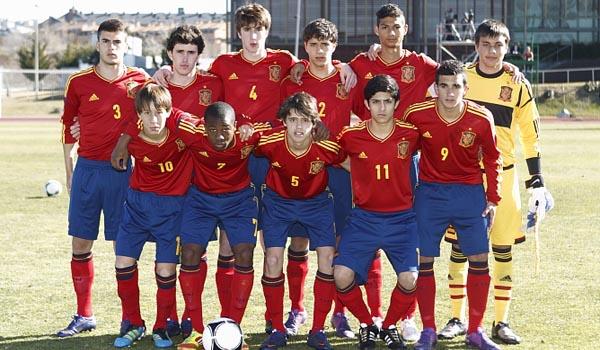 Once titular de España