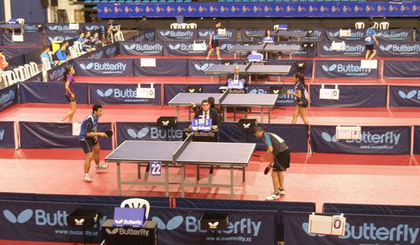 Campeonato de España de tenis de mesa en Almería