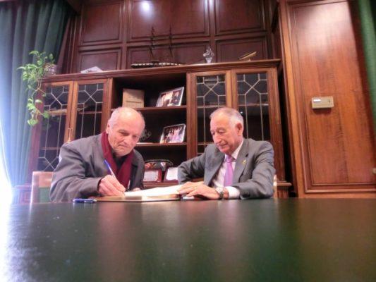 Antonio López y Gabriel Amat