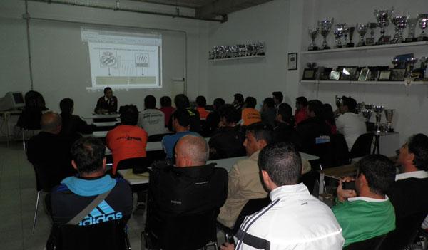 Curso de entrenadores de Almería