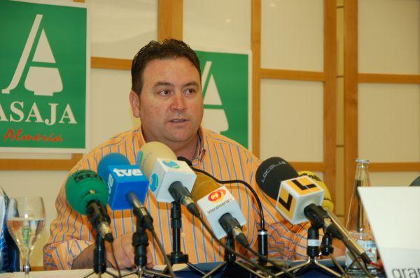 Francisco Vargas, presidente de Asaja Almería