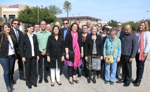 Delegación UAL-EEUU
