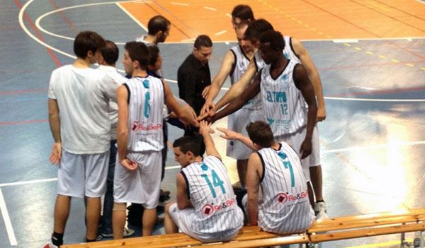 Jugadores de El Toyo Basket