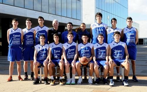 Equipo junior del CB Almería