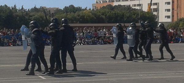 Exhibición policial El Ejido