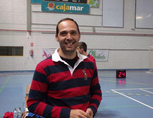 Joaquín González, técnico del CBP Vícar