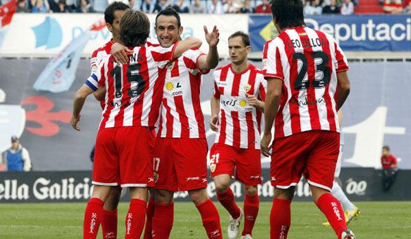 Juanma celebra Vigo