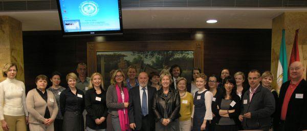 Participantes en la III Internacional Week