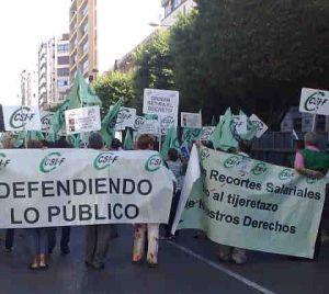 Protesta-CSIF