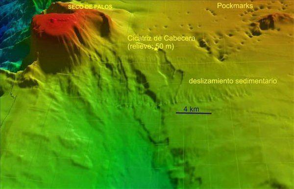 campo de cráteres
