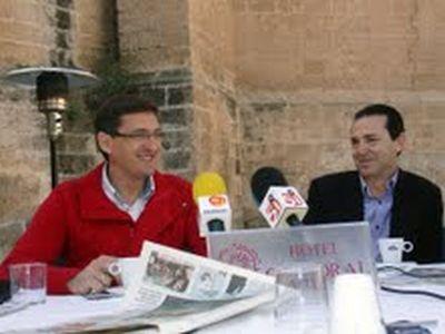 Jose Luis Sánchez Teruel y Juan Carlos Pérez Navas PSOE Almería