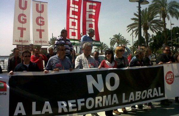 huelga almeria