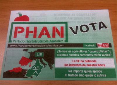 Publicidad electoral PHAN