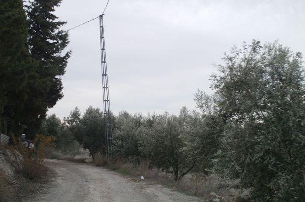 Camino de Cuajalá en Purchena