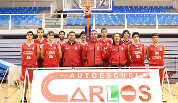 Equipo Junior Masculino del CB Almería