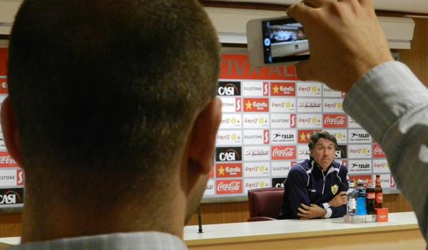 Esteban Vigo grabado por un Iphone