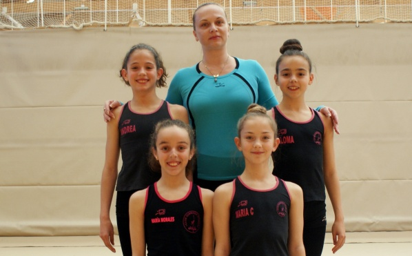 Las gimnastas de El Ejido estarán en el nacional de base