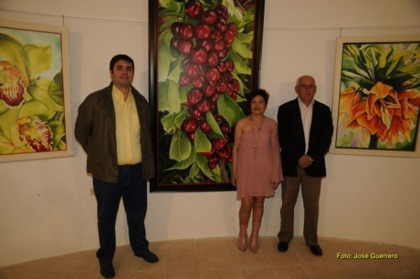 La artista Odu Carmona