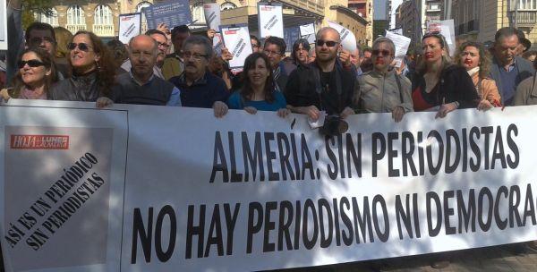 Manifestación-Periodistas-Almería