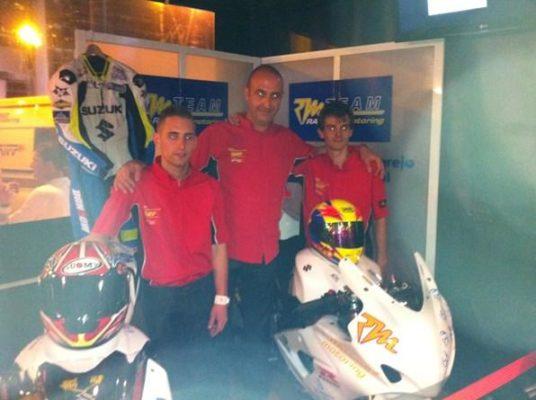 Presentación del Team Ramírez de motociclismo