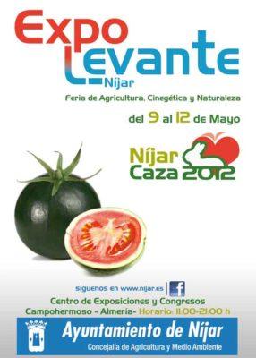 Cartel Expolevante 2012