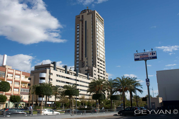 El torrelaguna inaugura sus 104 metros de altura en el - El ejido almeria ...