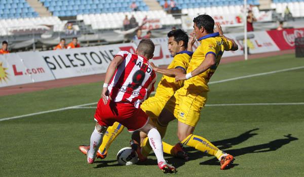 La UD Almería ha dado la talla ante los equipos fuertes de la Liga Adelante