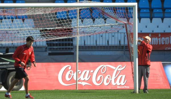 El Estadio de los Juegos Mediterráneos tiene una joya en Abel Molinero, de la UD Almería