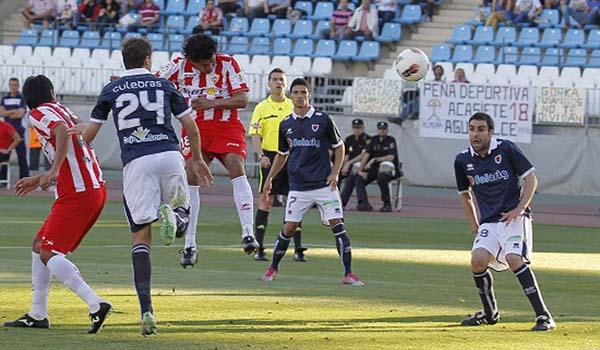 El central de Perú, que se marcha con su selección nacional, jugará en Guadalajara pero no de nuevo en Almeria ante el Alcoyano