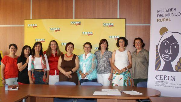 Coag y Ceres se unen para conmemorar el día de la mujer trabajadora