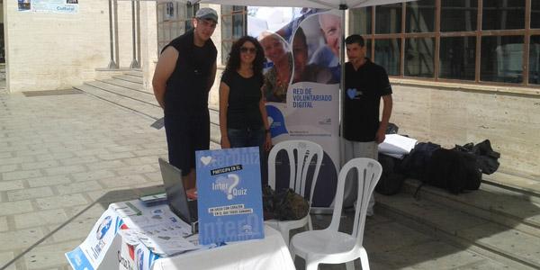 Mesas informativas en El Ejido, Adra y Almería en el Día Mundial de Internet