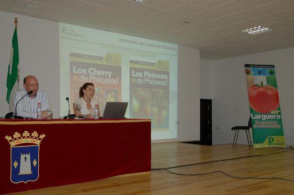 Presentación tomate Larguero