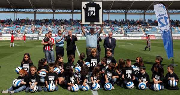 La LFP y Aficiones Unidas han reconocido a la afición de la UD Almería