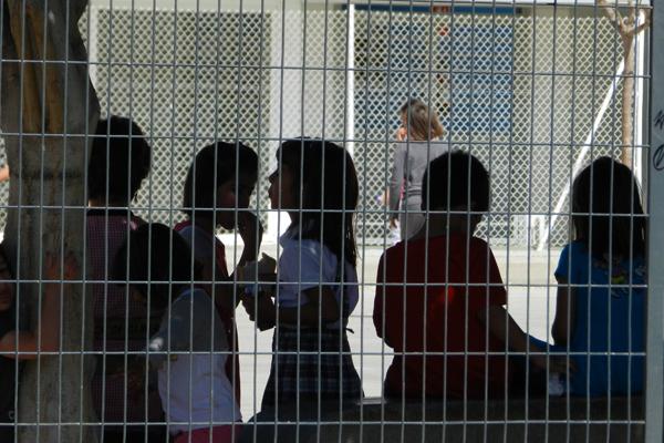 La incidencia de la huelga por la enseñanza pública no se deja notar demasiado en los colegios de Almería
