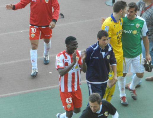 El jugador de Burkina Fasso fue el ejecutor de la AD Alcorcón ante la UD Almería