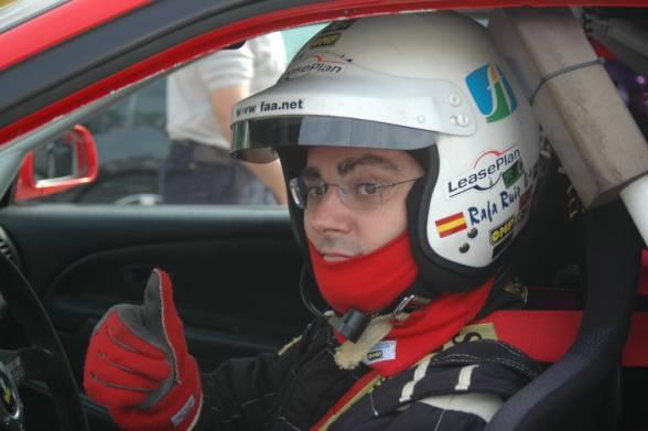 Rafa Ruiz. Piloto almeriense Rally