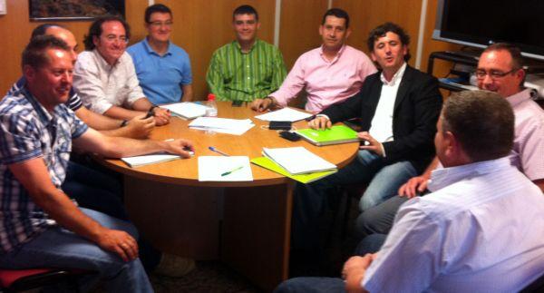 Reunión con empresas adjudicatarias obras Alpujarra