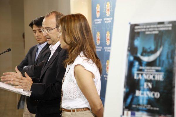 Alcalde de Almería y la noche en blanco