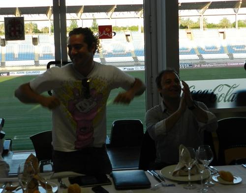 Intérprete de la canción de la Eurocopa 2012, David Bisbal también vibra con 'La Roja'