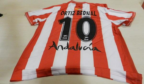 El capitán de la UD Almería, Jose Ortiz Bernal, ha venido a contar en el tramo final y la Liga Adelante se le queda corta