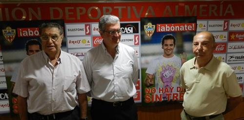 La campaña de abonos de la UD Almería mantiene los precios del anterior ejercicio