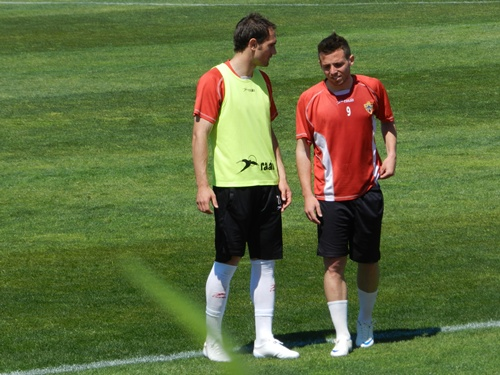 El papel de Carlos García en el vestuario de la UD Almería ha sido muy importante