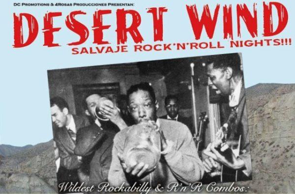 Desert Wind Festival, rock and roll en Roquetas