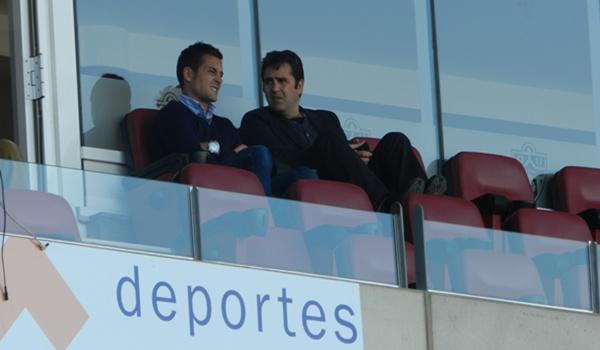 La renovación del técnico de la UD Almería B ha tenido el respaldo del director deportivo de la entidad, Alberto Benito
