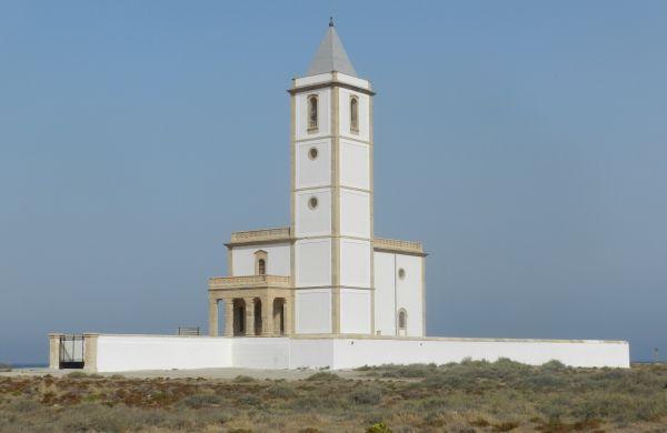 Estado actual de la iglesia de Las Salinas