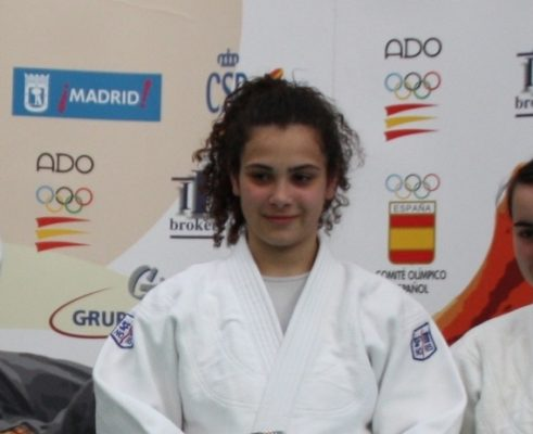 Candela Fernández, Judoka del club Forum.