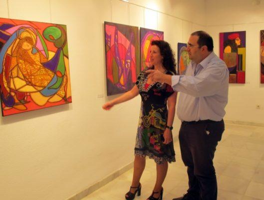 La diputada de cultura en el Instituto de Estudios Almerienses