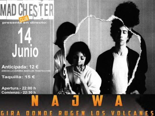 Najwa en el Madchester Club de Almería
